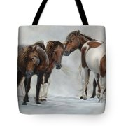 Only The Strong Survive II Tote Bag