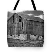 Ontario Barn Monochrome Tote Bag