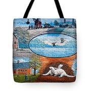 Ontario Heritage Mural Tote Bag