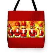 Onward Toy Soldiers Tote Bag