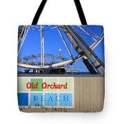 Oob- Its A Shore Wheel Tote Bag