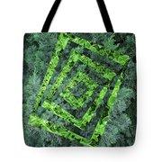 Op Art Garden 2 Tote Bag