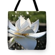 Opaque Lily Tote Bag
