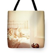 Open Bedroom Door Tote Bag