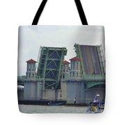 Open Bridge Of Lions Tote Bag