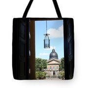 Open Church Door - Macon Tote Bag