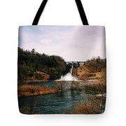 Dam At Raystown Lake Tote Bag