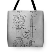 Open End Ratchet Wrench Tote Bag