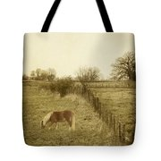 Open Fields Tote Bag