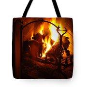 Open Fire Tote Bag