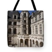 Open Staircase Chateau Chambord - France Tote Bag