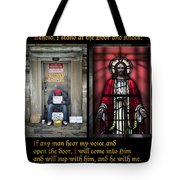 Open The Door Tote Bag