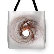 Open To Love Fine Fractalart Tote Bag