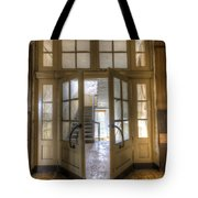 Open To The Light Tote Bag