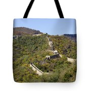 Open View Of The Great Wall 612 Tote Bag