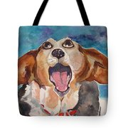Opera Dog Tote Bag