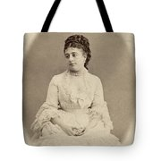 Opera Singer, 19th Century Tote Bag