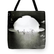 Operation Crossroads Tote Bag by Benjamin Yeager