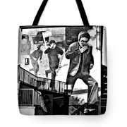 Operation Motorman Mural Tote Bag