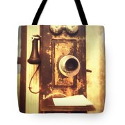 Operator Will You Please Connect Me Tote Bag
