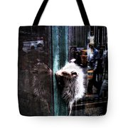 Opossum In The City Tote Bag