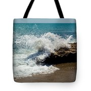 Opposing Forces Tote Bag by Michelle Wiarda