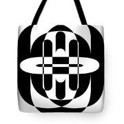 Opt Art 6 Tote Bag