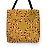 Optical Ilusions Summer Spin Tote Bag