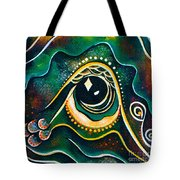 Optimist Spirit Eye Tote Bag
