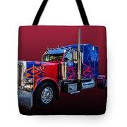 Optimus Prime Red Tote Bag