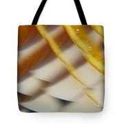Orange Abstract 1 Tote Bag