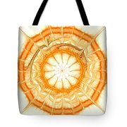 Orange Tote Bag by Anastasiya Malakhova