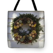 Orange And Artichoke Wreath Tote Bag