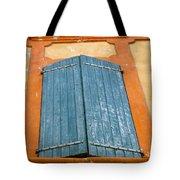 Orange And Blue Tote Bag