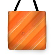 Orange Bolt Tote Bag