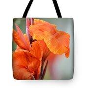 Orange Cana Tote Bag