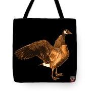 Orange Canada Goose Pop Art - 7585 - Bb  Tote Bag