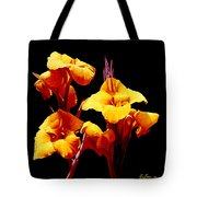 Orange Cannas Tote Bag