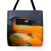 Orange Car Tote Bag