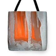 Orange Cave Tote Bag