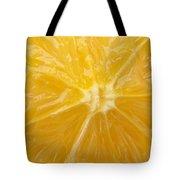 Orange Closeup Tote Bag