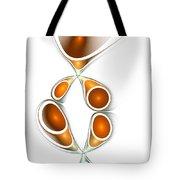 Orange Creation Tote Bag