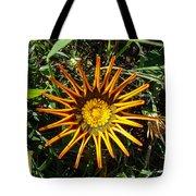 Orange Curl Tote Bag
