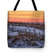 Orange Dawn Tote Bag