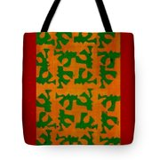Orange Delight Notecard Tote Bag
