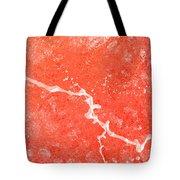 Orange Dreamsicle Tote Bag