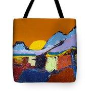 Orange Evening Tote Bag