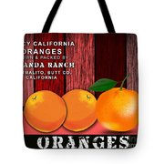 Orange Farm Tote Bag