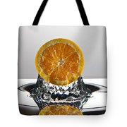 Orange Freshsplash Tote Bag