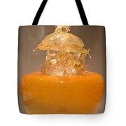 Orange Glass Sculpture Tote Bag